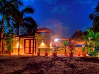 Night sky at the villa
