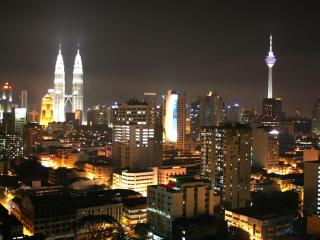 Luxury apartment with spectacular view, Kuala Lumpur