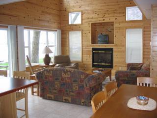 Cabin #12 livingroom