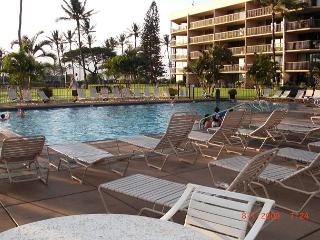 Maui Sunset 119B ~ 2 Bedroom 2 Bath, Full Kitchen, close to Pool!, Kihei