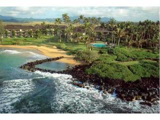 2Bed/2 Bath Wailua Bay Beachfront Condo in Kauai Hawaii