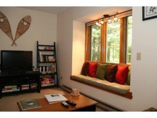 Even comfortable window nook setting