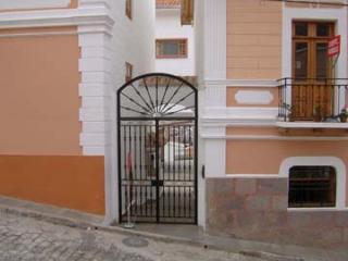 Entrance to gated complex