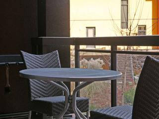 Private Balcony with BBQ and Heater