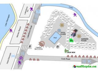 Site Plan showing location of Condo