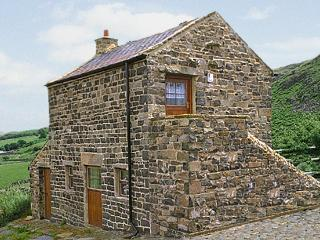 MEADOWS EDGE, pet friendly, character holiday cottage, with a garden in Holwick