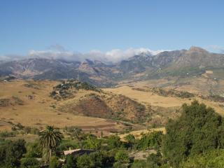The view of the Ronda & Grazalema Mountains