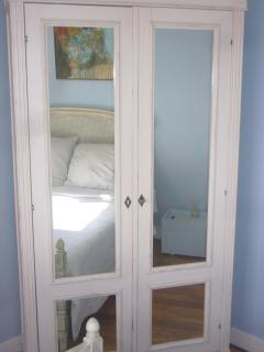 Armoire with Tv set and DVD Player