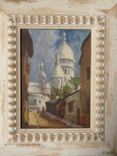 Small Painting of the Sacre Coeur