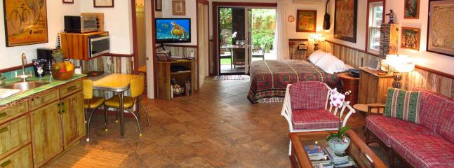 A Panorama of the Cowgirl Suite Interior