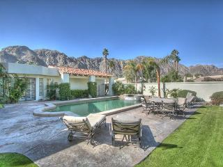 One of a kind golf course home with spectacular mountain & lake views, La Quinta