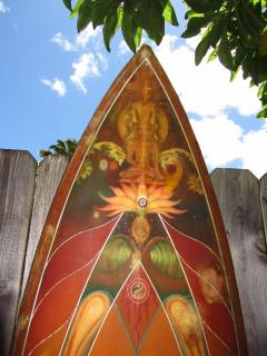 One of the famous surfboards