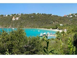 View of Great Cruz Bay Beach