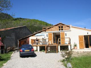 Set in Pyrenees with stunning mountain views