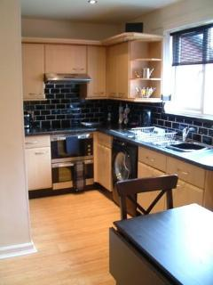 Moder Kitchen with all appliances in place (Upper)