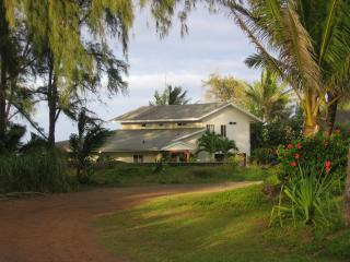 Hale Mar is located on a private 1/2 acre on a quiet road in paradise