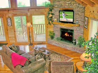 Fire Place - 42 inch HD Flat Panel Tv - Super Comfort with Mt Views!!!