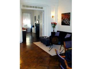 Living room view towards bedroom