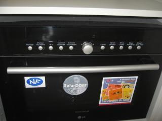 LG Solar Dome Technology Oven adn Microwave