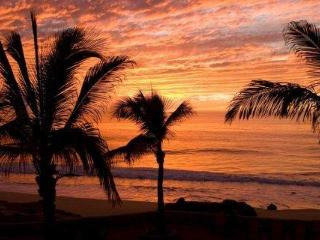 Estate faces west for amazing sunsets over the Pacific.