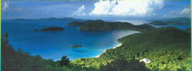 The Gorgeous Island Of St. John (Peter Bay)