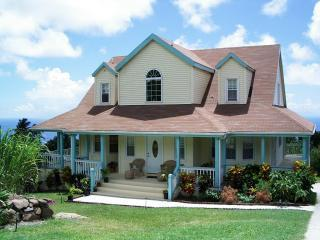 Nevis Vacation House with Pool & views of mountain, vacation rental in Nevis