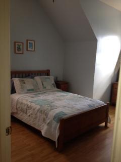 View of the top floor second bedroom
