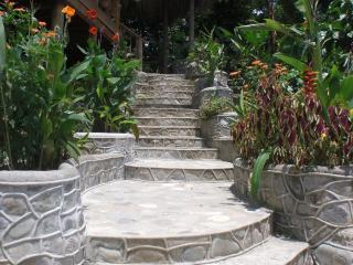 Entrance way to the Ceiba Tree Villa