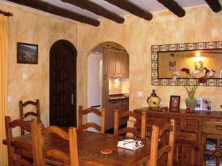 Inside breakfast area