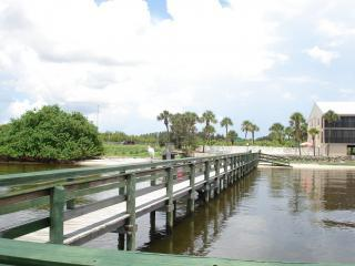 View from private dock