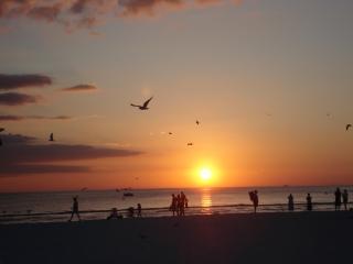 Sunset at Siesta Key