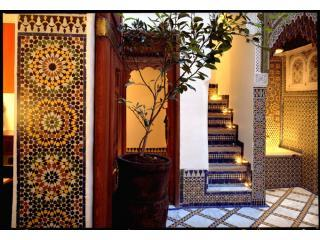 riad9:  Centrally Located, Chic + Intimate, Fez