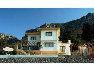 Villa with Mountains behind