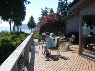 Highbank Waterfront Home / Magnificent 220 deg. Mt. and Water Views, Port Ludlow