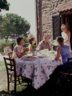 'al fresco' dining