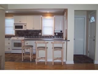 Kitchen, front hallway