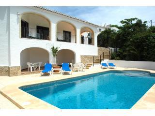 Villa Nido Jávea, sea view, air-con, wifi & pool
