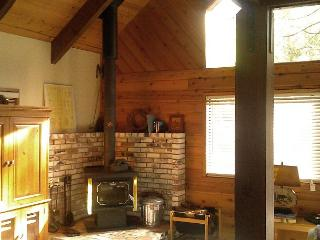 Charming, affordable mountain cabin located in the forested Blue Lake Springs, Arnold