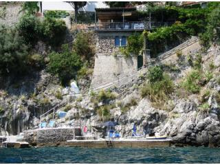 La Casetta seen from the sea
