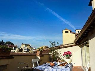 Perfect Terraces-Fabulous Views-Charm-Romantic-Ponte Vecchio-Torella Apartment