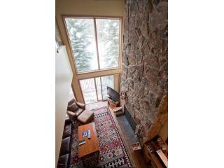 Loft View with 25\' Fireplace