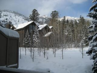 Back deck view of Rendezevous Mountain