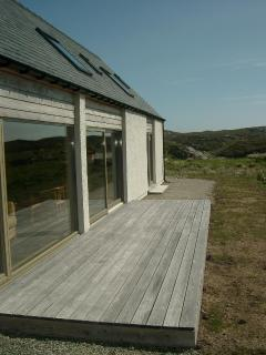 exterior and decking