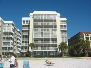 Condo building as seen from the beach