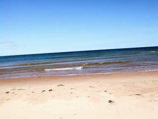 Una vista dell'acqua presso la spiaggia di Ross Ln
