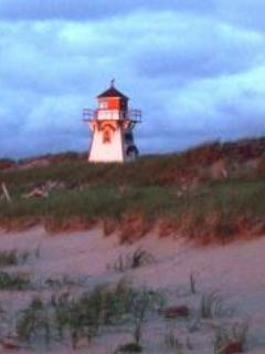 Sunsetting on Covehead Lighthouse