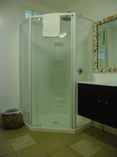 Main bathroom - large and modern