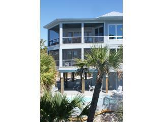 North Captiva New Lux Beach Front Home w/ Pool/Spa