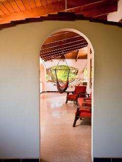 Upper Level Veranda Doorway Between Bedrooms