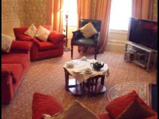 Duncorann House Lounge, beautiful room with all the traditional features. Three bedrooms and kitchen